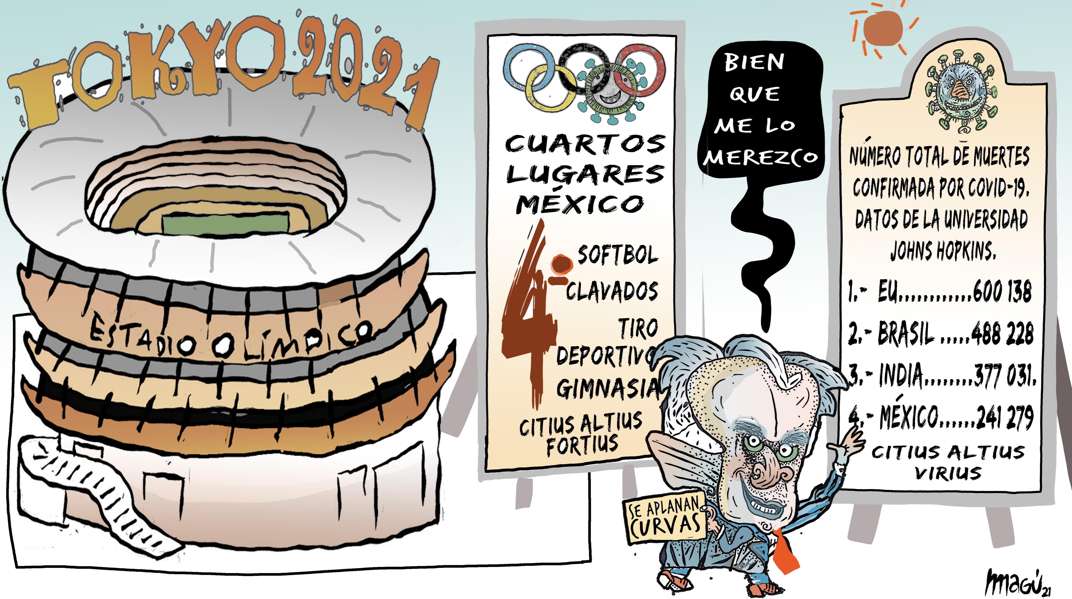 Así el deporte en la cuarta transformación de México