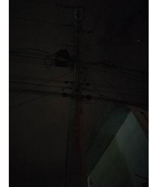 Luminaria apagada